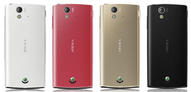 Sony Ericsson Xperia Ray, Xperia Ray, Sony Xperia Ray