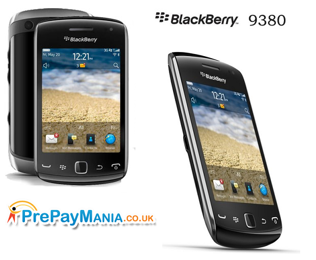 Blackberry 9380, Blackberry 9380 Sim Free