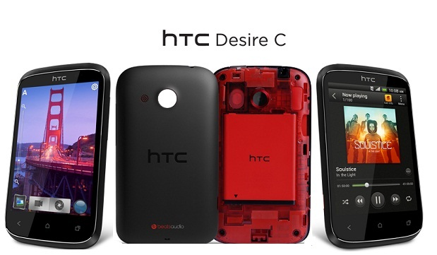 HTC Desire C Android 4.0 Phone