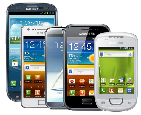 Samsung Galaxy Smartphones