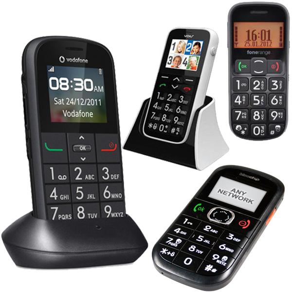 PrePayMania Big Button Mobile Phone