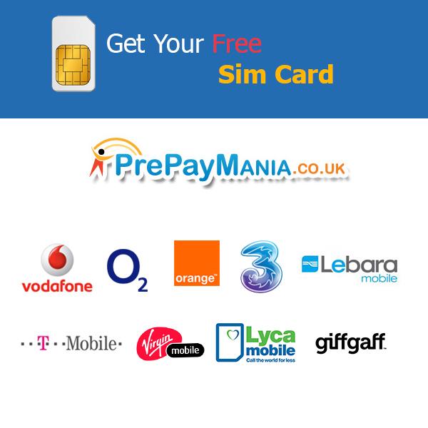 PrePayMania Free SIM Cards