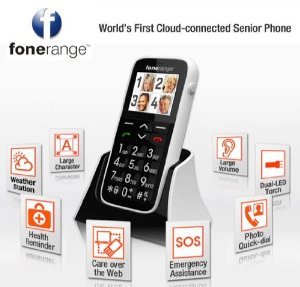 Big Button Mobile Phone - Fonerange