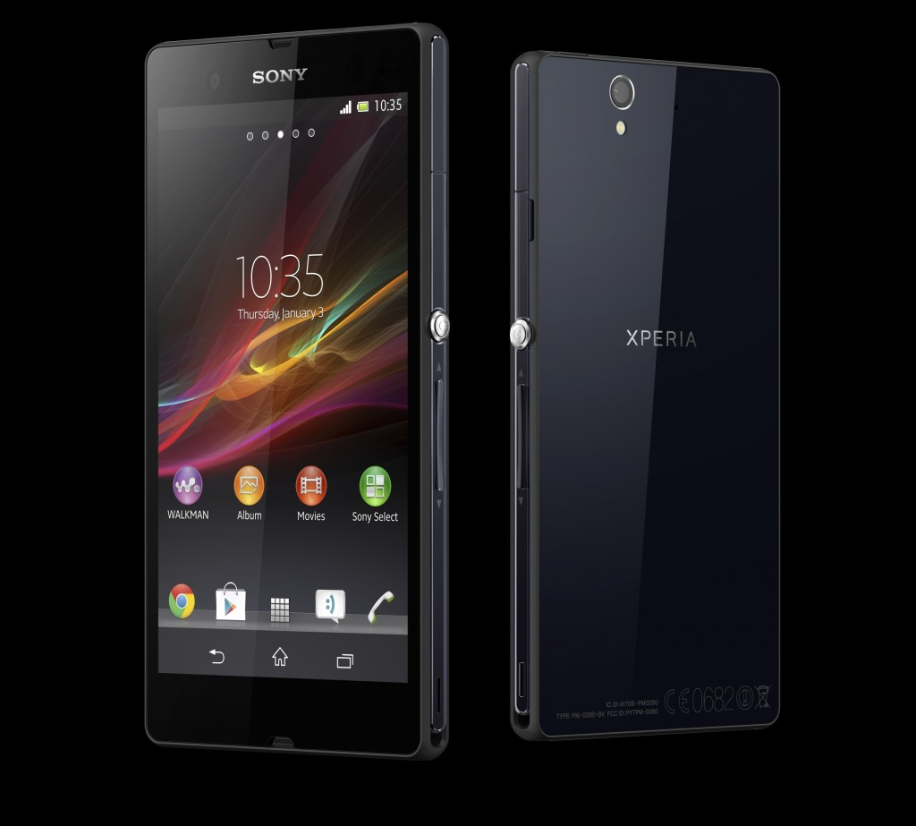 Sony Xperia Z Android Jelly Bean