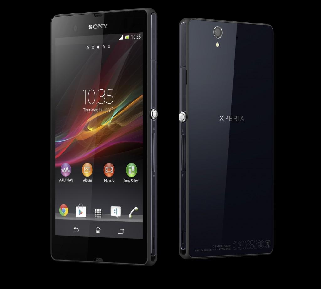 Sony Xperia Z Android Jelly Bean