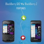 Blackberry Q10 vs. Blackberry Z10