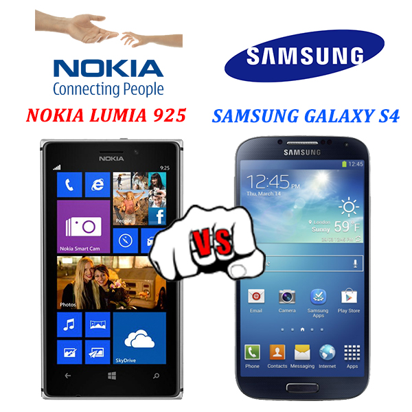 Lumia 925 Vs Galaxy S4