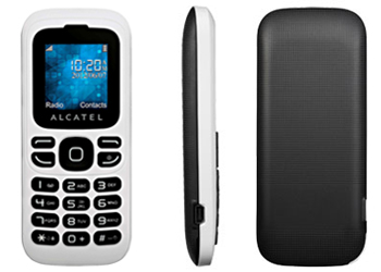 Alcatel 232 O2 Pay As You Go Mobile Phone - White