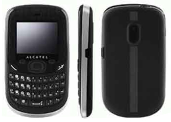Alcatel OT-355 Orange Pay As You Go Phone Black