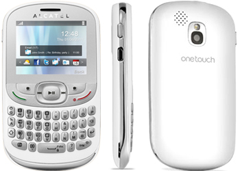 Alcatel OT-358 T-Mobile Pay As You Go Mobile Phone  White