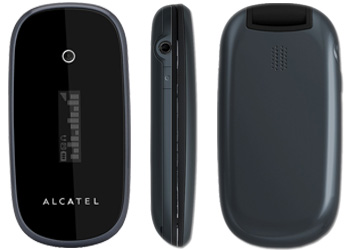 Alcatel OT-665 on T-Mobile Pay As You Go Phone Grey