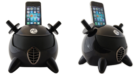 Amethyst iNinja Touch Sensitive Apple iPod Dock Black