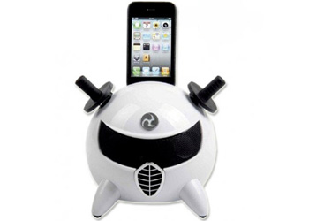 Amethyst iNinja Touch Sensitive Apple iPod Dock White