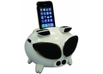 Amethyst iNinja Touch Sensitive Apple iPod Superpig Dock Black