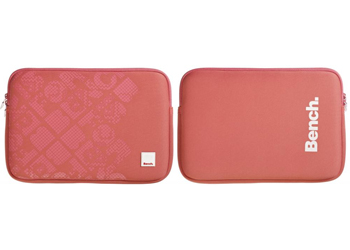 Bench Neoprene Laptop Sleeve Case Cover 11 Inch Coral