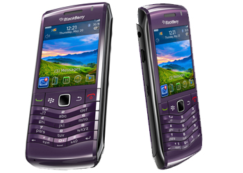 Blackberry 9105 Pearl 3G O2 Pay As You Go Mobile Phone - Purple