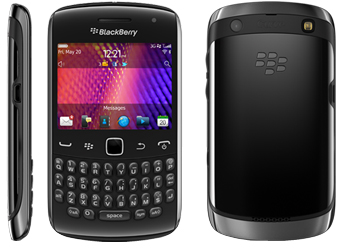Blackberry Curve 9360 Orange Pay As You Go Mobile Phone Black 