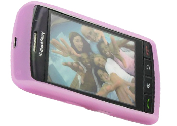 BlackBerry 9500 Rubber Skin Case Pink