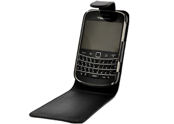 Fonerange blackberry 9320 flip black case cover with screen protector