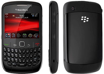 BlackBerry Curve 8520 O2 Pay As You Go Mobile Phone - Black