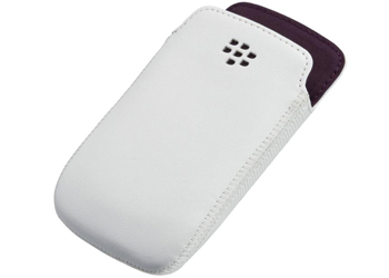 Blackberry Curve 9350/9360/9370 Pocket Liner White Royal Purple