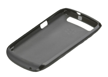 Blackberry Curve 9350/9360/9370 Soft Shell Black Translucent