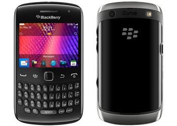 BBlackBerry Curve 9360 Vodafone Pay As You Go Mobile Phone Black