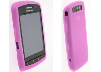 BlackBerry HDW-272875 Rubber Skin Case Pink