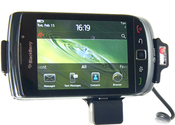 Brodit Blackberry Torch 9800/9810 Active Holder Mount With Cig-Plug Tilt Swivel