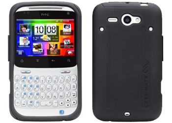 Case-Mate HTC ChaCha Tough Case Cover Black