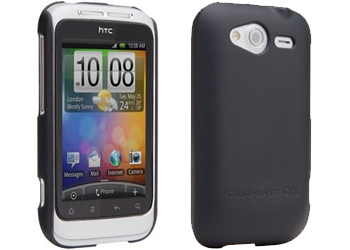 Case-Mate HTC Wildfire S Barely There Case Cover Black