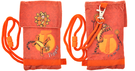 Disney Tiger Friendly Case for Mobile Phone, iPod, MP3 Player
