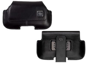 Genuine BlackBerry HDW-18975 Leather Horizontal Holster