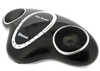 PMR Music Box Bluetooth Speaker Black