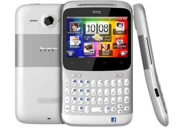 HTC ChaCha Silver Vodafone Mobile Phone