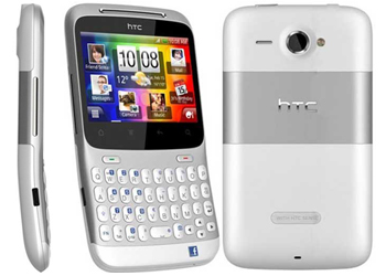 HTC ChaCha T-Mobile Pay As You Go Phone Silver White