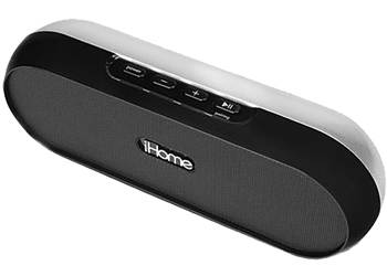 iHome iDM12 Rechargeable Portable Bluetooth Speaker System for iPad/iPhone & iPod