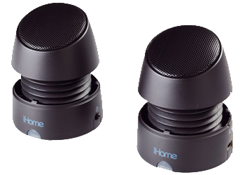 iHome iHM79 Portable Multimedia Speaker - Black