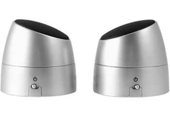 iHome iHM79 Rechargeable Portable Speakers - Silver