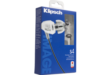 Klipsch Image S4 Black Headphone