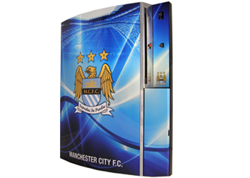 Manchester City FC Skin Sticker for Sony PS3