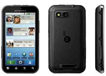 Motorola Defy Android Sim Free Unlocked Mobile Phone - Black