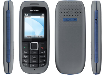 Nokia 1616 Sim Free Unlocked Mobile Phone - Grey