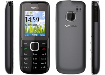 Nokia C1-01 O2 Pay As You Go Mobile Phone  