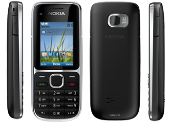 Nokia C2-01 Black  Mobile Phone