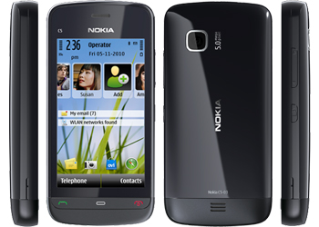 Nokia C5-03 Black Sim Free