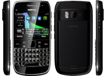 Nokia E6-00 Black Sim Free Unlocked Mobile Phone