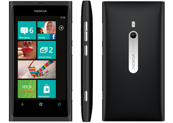 Nokia Lumia 800 Windows Sim Free Unlocked Mobile Phone - Black