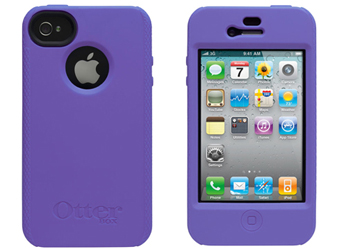 OtterBox for Apple iPhone 4/iPhone 4S Impact Case Cover, Purple