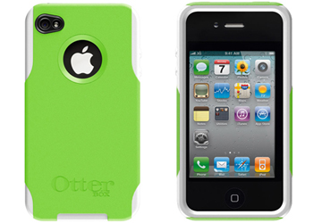 OtterBox Commuter Case Cover Green White For Apple IPhone 4 4S